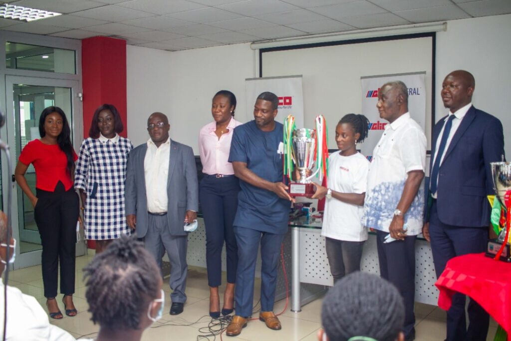 Hasaacas Ladies FC and Sponsors GLICO General